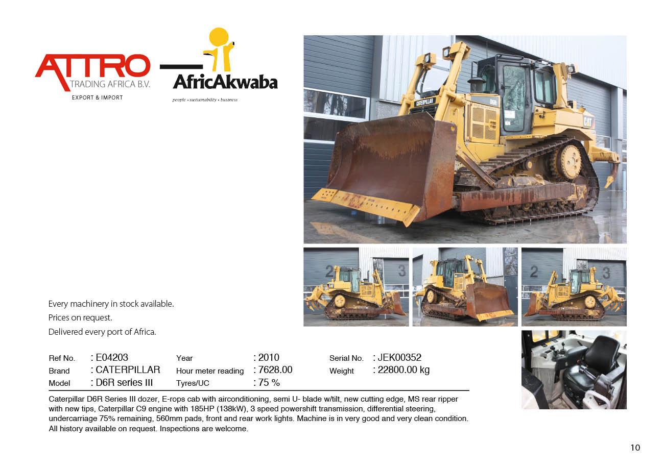 Attro Trading BV | Crushers & Mining Equipment, Earthmoving